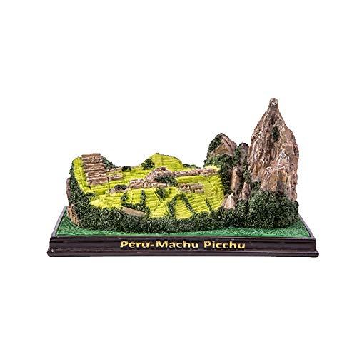 Statue Garden And Of Decor Sculpture Design Resin Crafts, Creative Home Decoration, World Famous Architectural Model, Machu Picchu, Peru