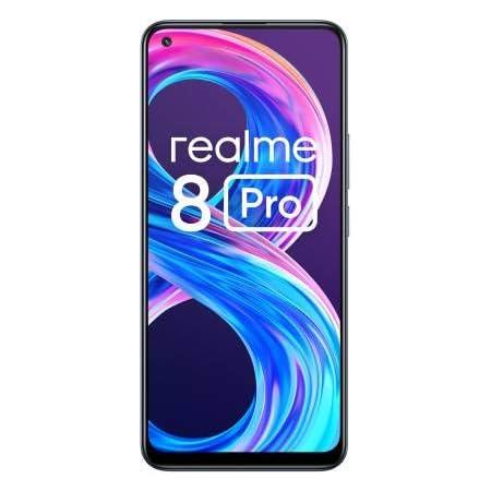 realme 8 Pro (Infinite Black, 6GB RAM, 128GB Storage) Without Offers