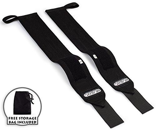 Muñequeras Deportivas Profesionales 45cm, Heavy Duty Wrist