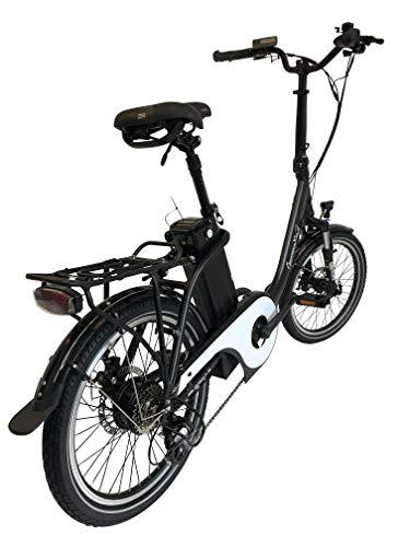 419gn5DzM0L - GermanXia E-Bike E-Faltrad/Klapprad Mobilemaster Touring CH 7G Shimano 20 Zoll mit Drehmoment-/Bewegungssensoren, eTurbo 250 Watt HR-Antrieb, bis zu 156 km Reichweite nach StVZO