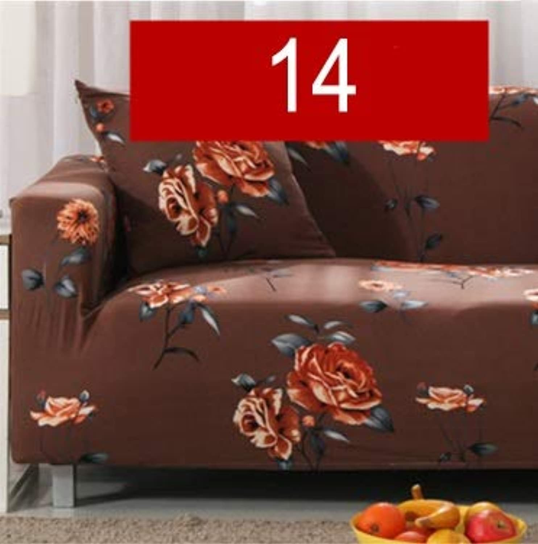 Modern Pure color Fashion Elastic Sofa for Lig Room Sofa Cover Stretchable Sofa Cushion Washable Sofa Slipcover   red, 2 Seater