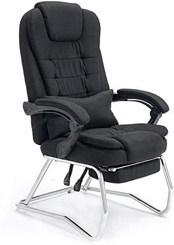 Gaming Silla de escritorio de la computadora, jefe silla,Black