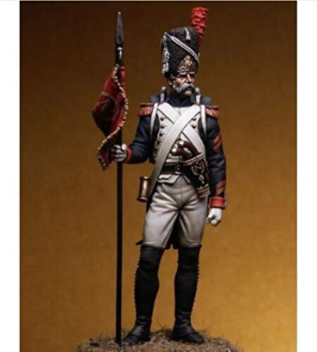 XINGCHANG 1/24 75Mm Grenadiers of The Guard West 75Mm Toy Resin Model Miniature Kit Unassembly Unpainted