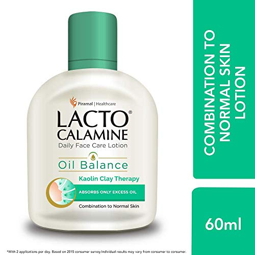 Lacto Calamine Face Lotion for Oil Balance - Combination to Normal Skin...