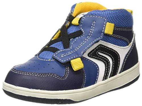 Geox Baby-Jungen B New Flick Boy B Sneaker, (Navy/Avio), 24 EU