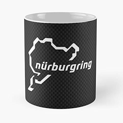 lumeCube Carbon Nurburgring Best 11 oz Kaffeebecher - Nespresso Tassen Kaffee Motive