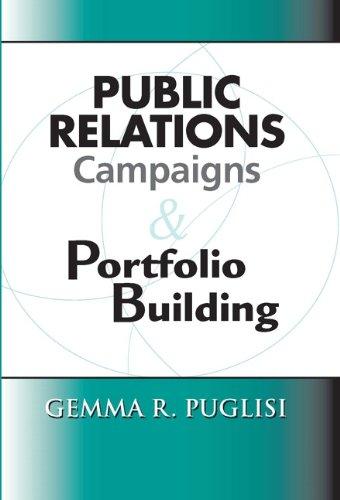 Public Relations Campaigns and Portfolio Building