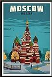 York, Países Bajos, Amsterdam, Londres, Vintage, Viaje, Ciudad, Paisaje, Cartel, Lienzo, Pintura, Impresión En Lienzo, Imágenes 50X70Cm Sg-2194