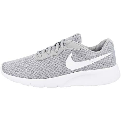 Nike Tanjun (Gs), Scarpe da Ginnastica Basse Bambino, Multicolore (Wolf Grey/White White), 36 EU