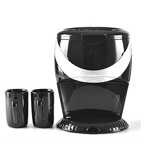 Kaffeemaschine Teefilter Amerika Stil automatische Home Office Elektrodoppel Cup Espresso Kaffeemaschine 500W Dampf-Maschine