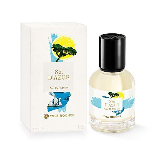 Yves Rocher LA COLLECTION Eau de Parfum Sel d'Azur, erfrischendes Parfum mit Zedernholz & Grapefruit, 1 x Zerstäuber 30 ml