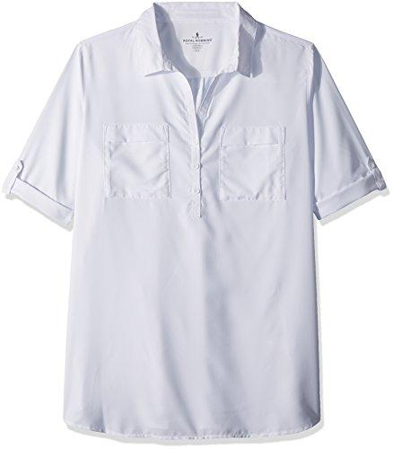 Royal Robbins Chemise Tunique Extensible pour Femme Blanc Taille XL
