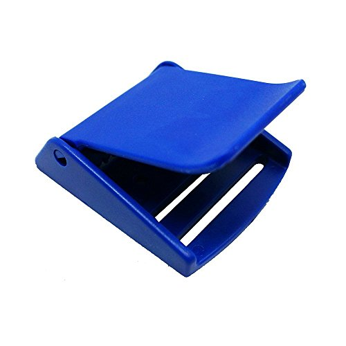 Scuba Choice - Fibbia per cintura in plastica, colore: Blu reale