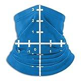 YudoHong Cuello Bufanda Sistema de coordenadas cartesianas P