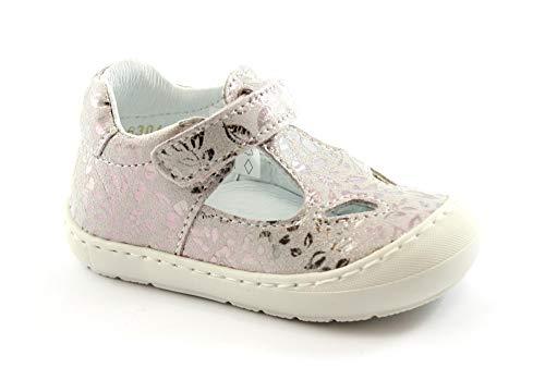 BALOCCHI 116304 19/24 BUGGY rosa glicine bambina scarpe sandalo punta chiusa strappo 20