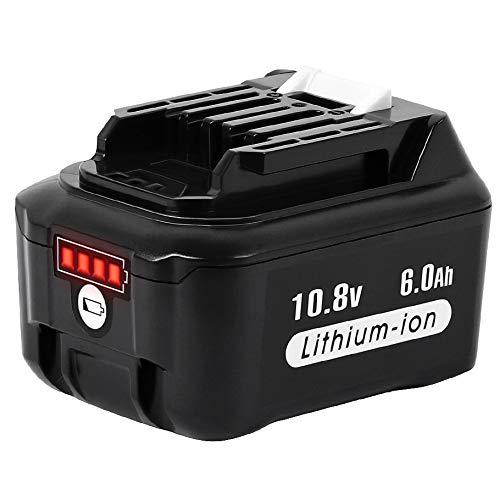 マキタ10.8Vバッテリー BL1015 BL1040B BL1060 6000mAh 互換バッテリー 掃除機/電動工具用 BL1030B BL1050B BL1041B-2 BL1021B BL1060B A-59863 リチウムイオン電池 互換でき
