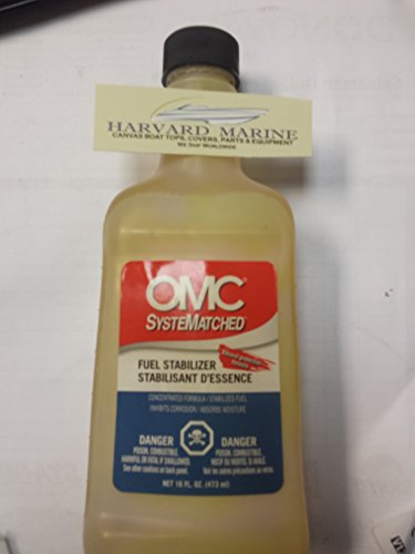OMC SysteMatched OEM OMC Johnson EVINRUDE BRP Gas Fuel STABILIZER & Conditioner 16 OZ