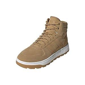 adidas Unisex Frozetic Boots Fashion, Stone Tan/Stone Tan/White, 11 US Men