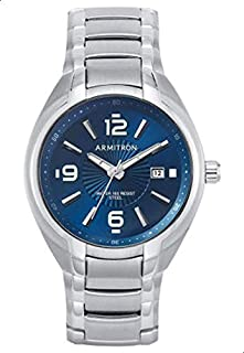 Armitron Casual Watch For Men,Stainless Steel, 205212NVSV