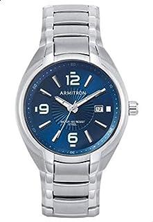 ارمترون ساعة رسمية للرجال انالوج بعقارب ,ستانلس ستيل ,205212NVSV