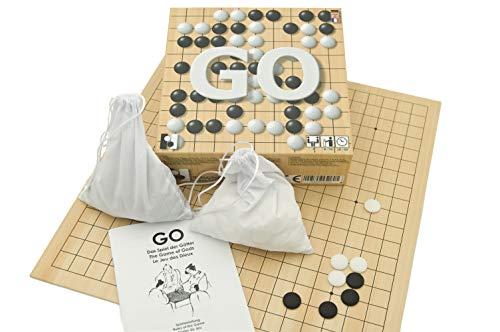 Hebsacker Verlag - Go. Das Spiel der Götter (Go-Spiel mit DREI Brettgrößen)