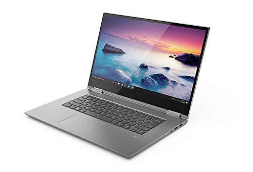 Lenovo Yoga 730 39,6 cm (15,6 Zoll Full HD IPS Multi-Touch) Slim Convertible Notebook (Intel Core i5-8250U, 8 GB RAM, 256 GB SSD, Nvidia GeForce GTX 1050 4 GB, Windows 10 Home) grau