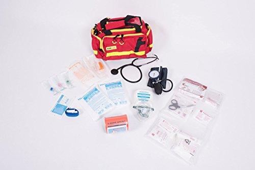 AKTION 2 - Notfalltasche Gr. M - ROT - Polyester gefüllt mit MIH Füllung EAN by MIH