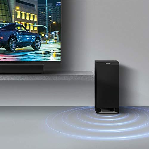 Panasonic SC-HTB900EGK - Barra de Sonido 3.1 con Dolby Atmos (subwoofer inalámbrico, Google Chromecast Audio, Barra de Sonido 4K, 505 W RMS), Color Negro
