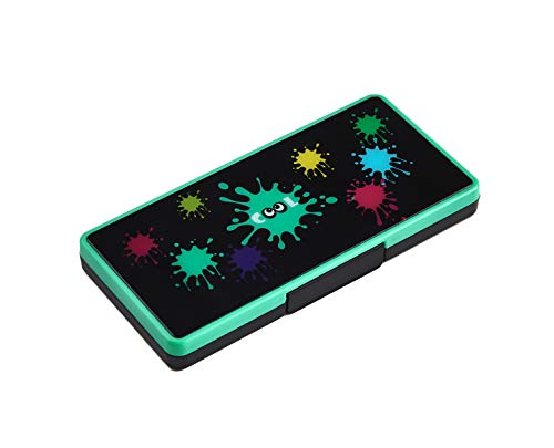 IINE Game Card Storage Case Green for Nintendo Switch and Lite,Game case with 16 Card Slots and 2 Micro SD Card Holders