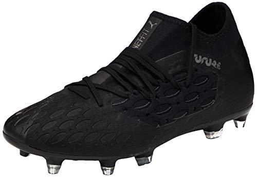 PUMA Future 5.3 Netfit FG/AG, Zapatillas de fútbol Hombre, Negro Black/Asphalt, 42.5 EU