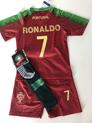 Générique Nouveau Maillot ET Short Foot Portugal Ronaldo 8 Ans