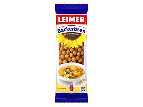 Leimer Backerbsen mit Sonnenblumenöl, 25er Pack (25 x 100 g), 038220