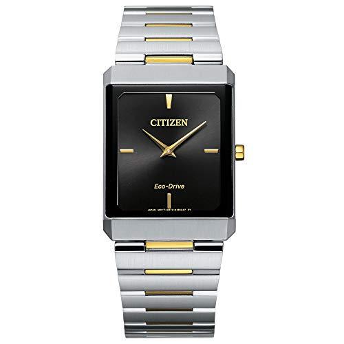 Citizen Eco-Drive Large Stiletto Two-Tone Watch AR3104-55E