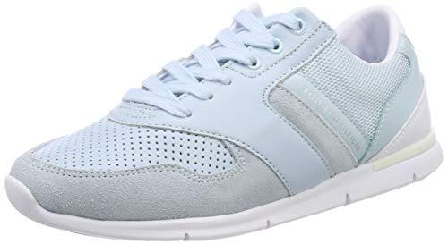 Tommy Hilfiger Color Pop Light Sneaker, Zapatillas Mujer, Azul (Omphalodes 450), 40 EU