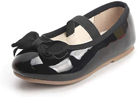 THEE BRON Girl's Toddler/Little Kid Ballet Mary Jane Flat Dress Shoes
