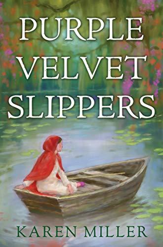 Purple Velvet Slippers