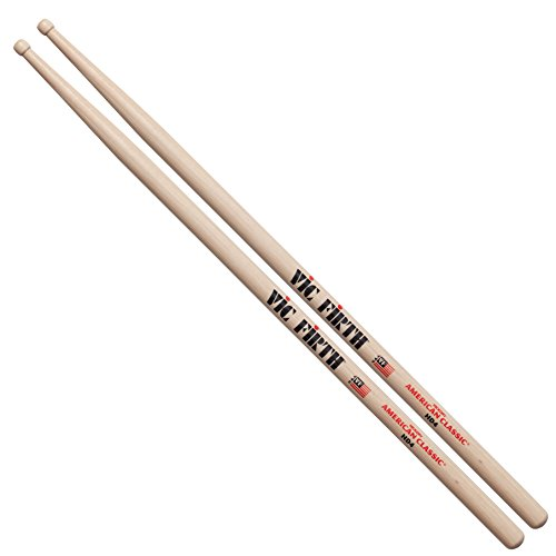 Vic Firth VFHD4 HD4 American Hickory Wood Tip Drumsticks