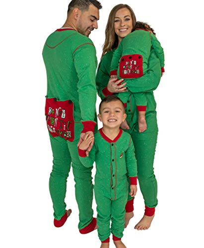 Lazy One Flapjacks, Matching Pajamas for The Dog, Baby & Kids, Teens, and Adults (Don't Open 'Till Christmas, 18 Months)