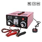 Beleeb Chargeur de Batterie Automatique Desulfator 12 V / 24 V / 36 V / 36 V / 48 V / 60 V / 72 V pour Golf Cart Motos Voiture Camion Tondeuse À Gazon RV ATV - Courant De Tension Réglable (40-150Ah)