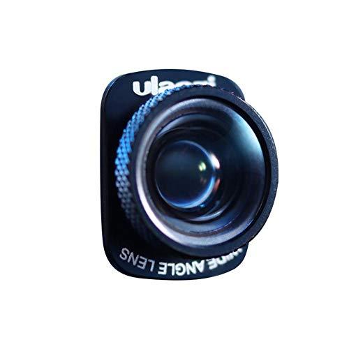 Gally Weitwinkelobjektiv Objektiv Ultra Weitwinkel Zoomobjektiv Objektiv für DJI OSMO Pocket Professionell Zubehör weitwinkel objektiv für Videofolgen schwarz