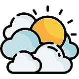 Informe de pronóstico del tiempo en vivo de la aplicación Weather