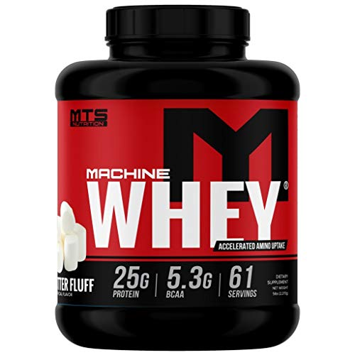MTS Machine Whey Protein (5lbs, Peanut Butter Fluff)
