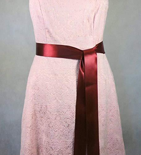 Brautgürtel, Abendkleidgürtel, Taillenband, Damen Gürtel, Satiband
