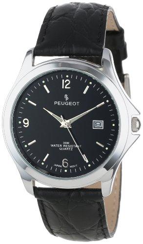 Peugeot Men's 2035RG Analog Display Japanese Quartz Brown Watch