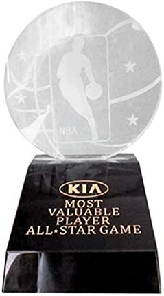 Yoyogi MVP Trophy NBA FMVP Trophy All Star Game Trophy Basketball Trophy Suitable for NBA Fans product image