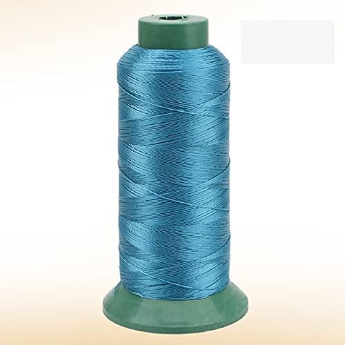 JKGHK Hilos De Coser Hilo De Poliéster para Coser Y Tejer, Adecuado para Coser Ropa, Hay 10 Colores para Elegir,Peacock Blue