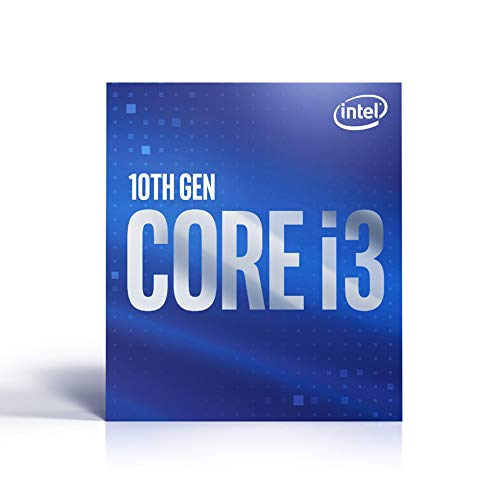 Processore Intel BX8070110100 Core i3-10100 (frequenza di base: 3,60 GHz; attacco: LGA1200; 65 Watt)