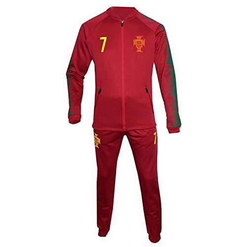Générique Survêtement Jogging Portugal Enfant Rouge - Rouge - 12 Ans