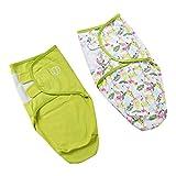 perfeclan 2 Unidades Saco de Dormir Suave y Cómodo Tipo Capullo, Perfecto para que su Bebé se Duerma Profundamente - Flamingo, M