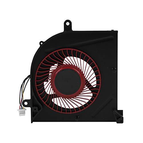 Ventiladores de enfriamiento de CPU, ventilador de disipador de calor de enfriamiento Disipación de calor silenciosa rápida, ventilador de enfriamiento eficiente para computadora portátil para las